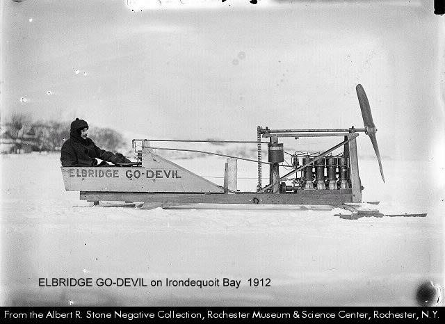 Irondequoit Bay Elbridge Go-Devil Ice Racing