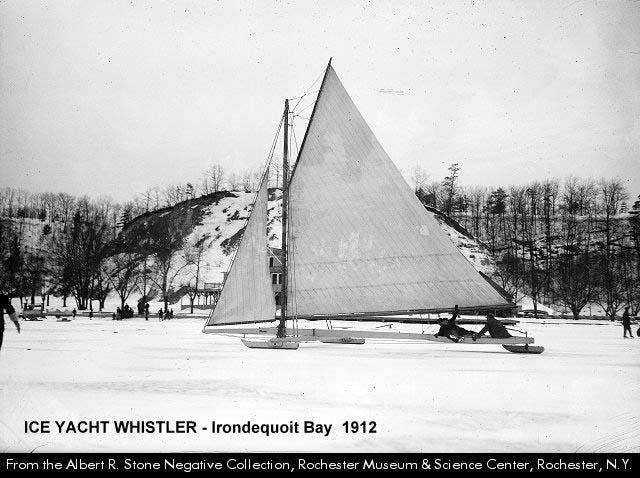 Irondequoit Bay Ice Yacht Whistler